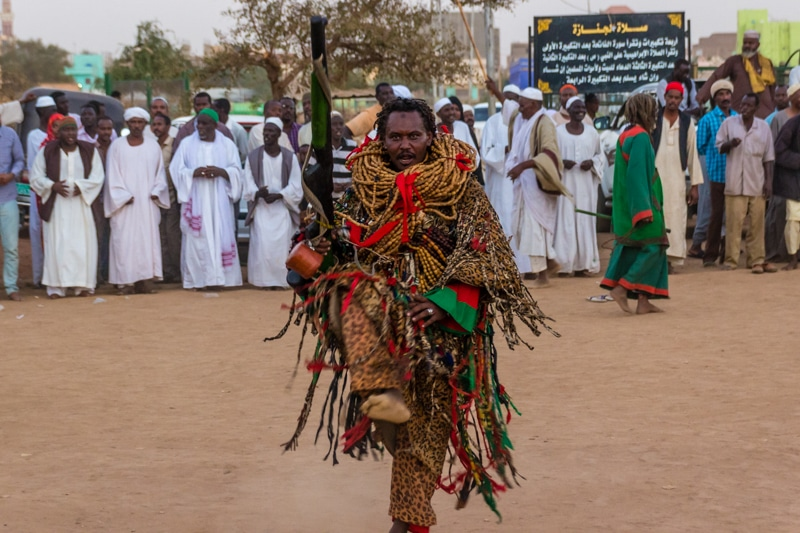 Sudanese whirling dervishes
