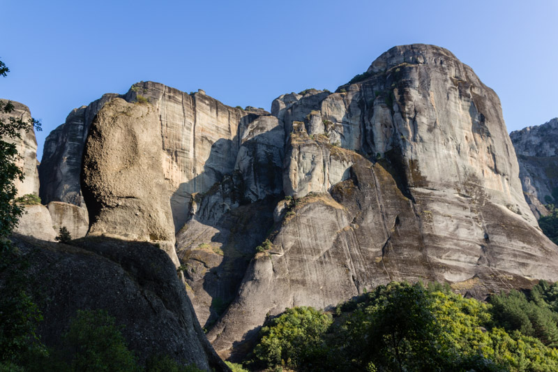 More views of these beautiful rock formations in Meteora. Climbing these walls is always an adventure.